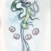 The Charmer watercolour